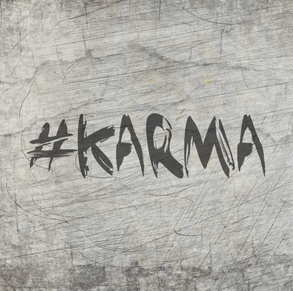 "Copy of Plotterdatei - ""#karma"" - B.Style"