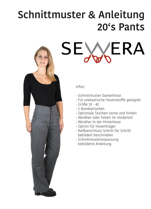 "eBook - ""20´s Pants"" - Hose - Sewera"