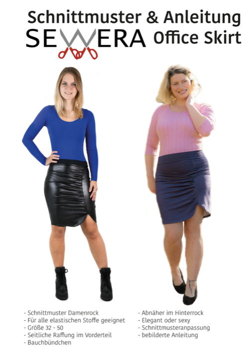 "eBook - ""Office Skirt"" - Rock - Sewera"