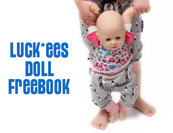 "Freebook - ""Luck*ees Doll"" - Hose -  NipNaps - Glückpunkt."