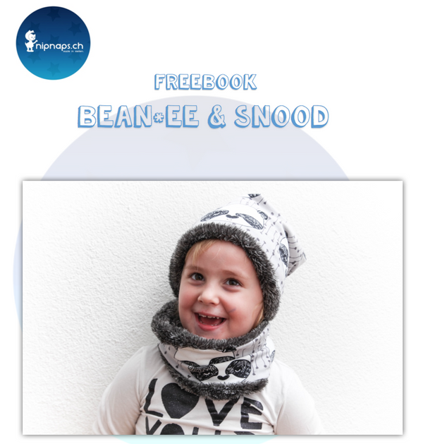"Freebook - ""Bean*ee & Snood"" - Mütze&Loop -  NipNaps - Glückpunkt."