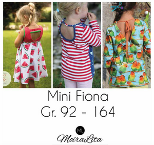 "eBook - ""Mini Fiona"" - Shirt -  MoiraLita - Glückpunkt."