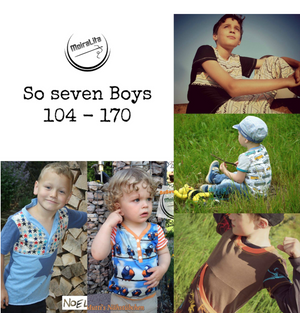 "eBook - ""SoSevenBoys"" - Shirt -  MoiraLita - Glückpunkt."