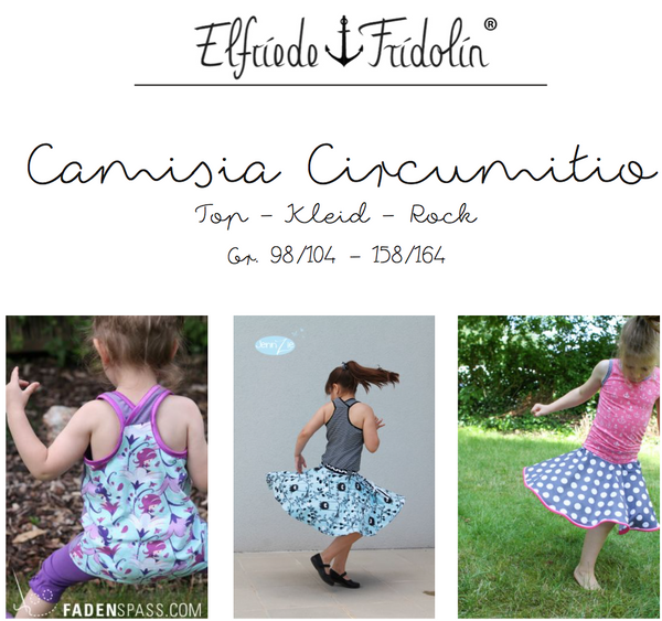"eBook - ""Camisia Circumitio"" - Kleid/Top/Rock - Elfriede und Fridolin - Glückpunkt."