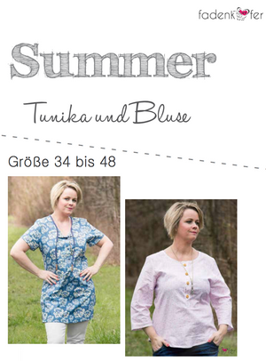 "eBook - ""Summer"" - Bluse/Tunika - Glückpunkt."
