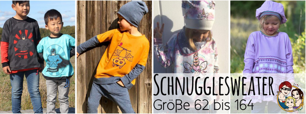 "eBook ""Schnuggelsweater"" - Pullover - From Heart to Needle - Glückpunkt."