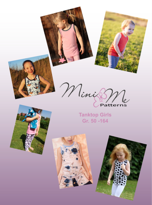 "eBook - ""Tanktop Kids"" - Shirt - Mini & Me Patterns - Glückpunkt"