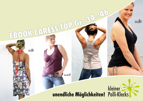 "eBook - ""Caress"" - Top/Kleid -  Kleiner Polli-Klecks - Glückpunkt."