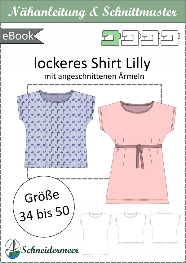 "eBook - ""Lilly"" - Shirt - Schneidermeer"