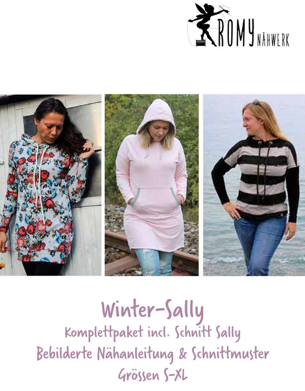 "Kombi-eBook - ""Winter-Sally"" - Shirt - Romy Nähwerk"