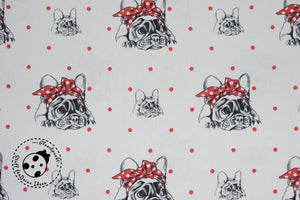 "Canvas - ""Cute Bulldog"" - Hund"