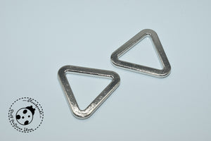 "Metall-Schnalle - ""Triangle"" - 20 mm (2er-Set)"