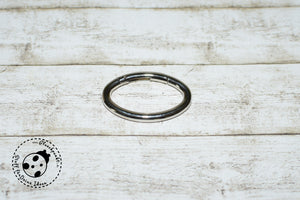 "Metall-Ring/Karabiner/Karabinerhaken - ""Metall oval"" - 38 mm"