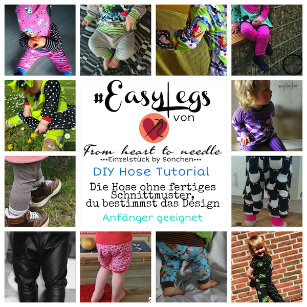 "Freebook - ""Easy Legs"" - Leggings -  From Heart to Needle"