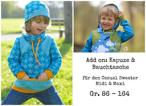 "Kombi-eBook - ""Casual Sweater Maxi & Add On"" - Pullover -  Schneiderline"