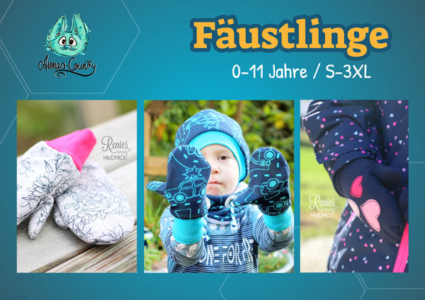 "eBook - ""Fäustlinge"" - Handschuhe -  Annas-Country"