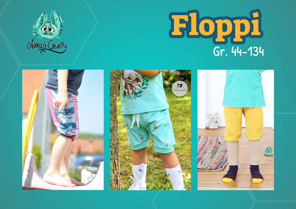 "eBook - ""Floppi"" - Hose -  Annas-Country - Glückpunkt."