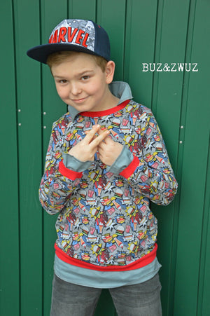 "eBook - ""Layering Sweater"" - Pullover im Lagenlook - Schneiderline"