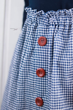 "eBook - ""Button Skirt"" - Rock - Schneiderline"