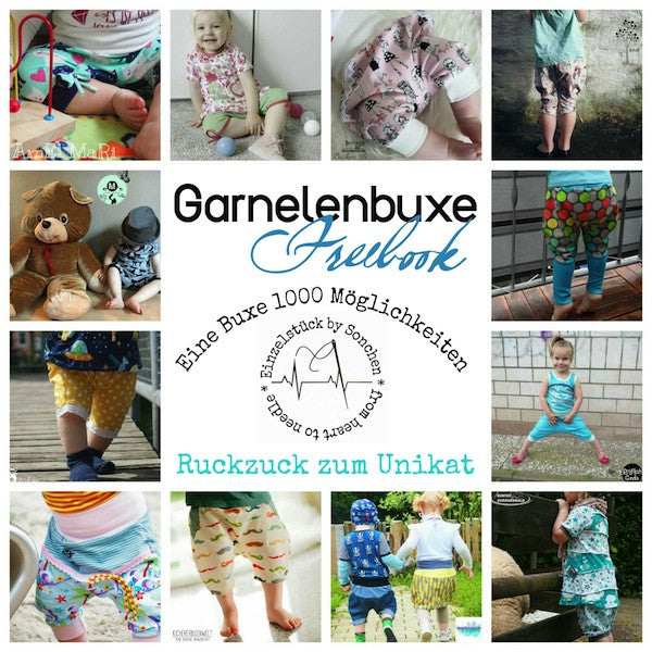 "Freebook - ""Garnelenbuxe"" - Hose -  From Heart to Needle"