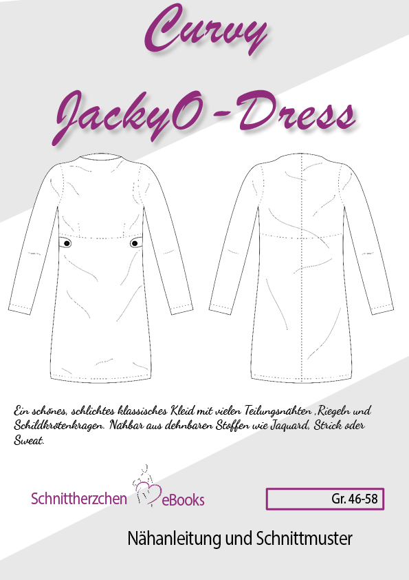 "eBook - ""Curvy JackyO-Dress"" - Kleid - Schnittherzchen"