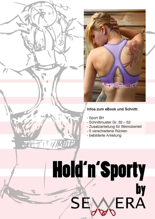 "eBook - ""Hold'n'Sporty"" - BH - Sewera - Glückpunkt."