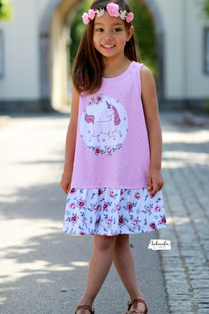 "eBook - ""Girly Dress inkl. Beamer Datei"" - Shirt/Kleid - Schneiderline"