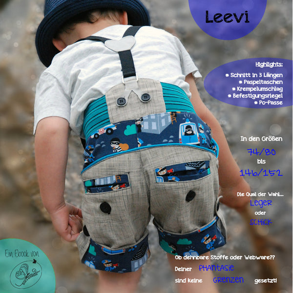 "eBook - ""Leevi"" - Hose - Susi's Kreation - Glückpunkt."