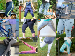 "eBook - ""Sporty Leggings"" - Hose - Sewera"