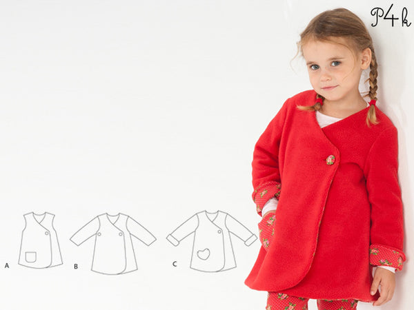 "eBook - Kleid/Tunika/Winterjacke ""Lena"" - Pattern4kids"