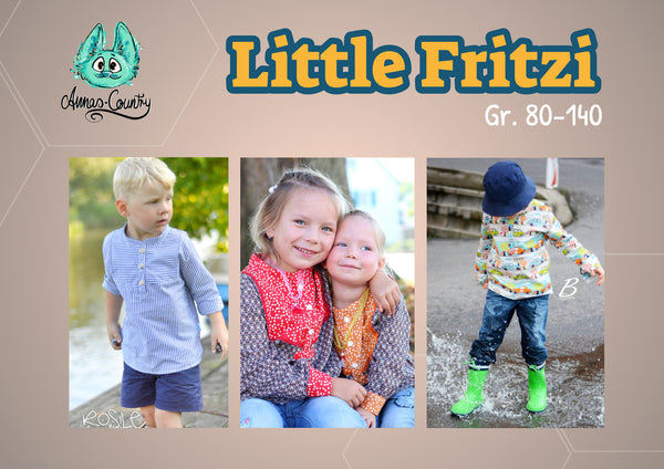 "eBook - ""Little Fritzi"" - Hemd -  Annas-Country"