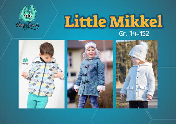 "eBook - ""Little Mikkel"" - Mantel -  Annas-Country - Glückpunkt."