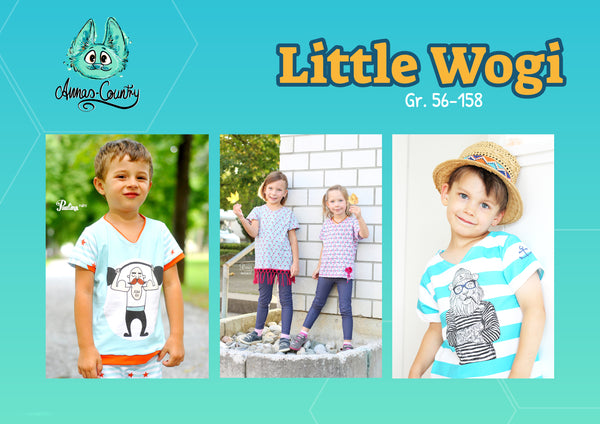 "eBook - ""Little Wogi"" - Shirt - Annas-Country - Glückpunkt."