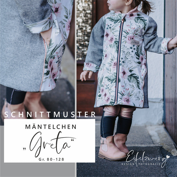 "eBook - ""Greta"" - Mantel - Eifelzwerg - By.ysonne"