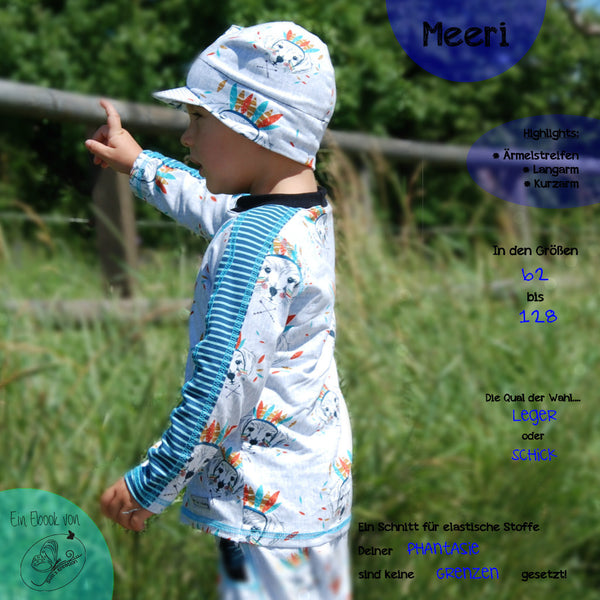 "eBook - ""Kindershirt Meeri"" - Shirt - Susi's Kreation"