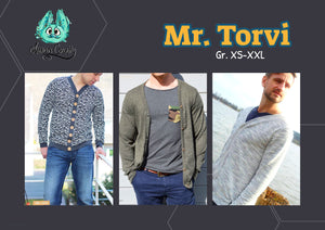 "eBook - ""Mr. Torvi"" - Cardigan - Annas-Country"