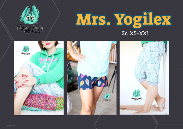 "eBook - ""Mrs. Yogilex"" - 3/4-Hose / Shorts - Annas-Country"