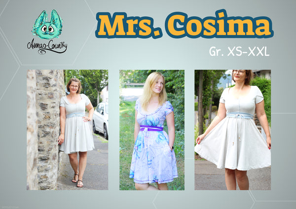 "eBook - ""Mrs. Cosima"" - Kleid - Annas-Country"
