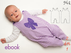 "eBook - Overall ""Plinio"" - Pattern4kids"