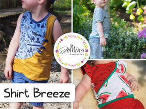 "Freebook - ""Breeze"" - Shirt - Jo Mina"