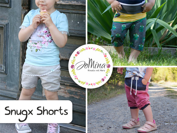 "Freebook - ""Shorts Snugx"" - kurze Hose - Jo Mina"
