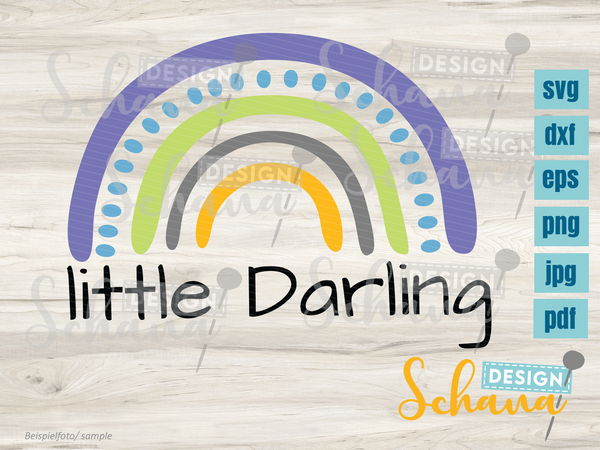 "Plotterdatei - ""Little Darling"" - Schana Design"