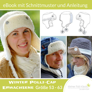 "eBook - ""Winter Polli-Cap"" - Fliegermütze -  Kleiner Polli-Klecks"