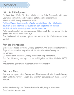 "eBook - ""Ally"" - Top/Shirt - Prinzessin Farbenfroh"
