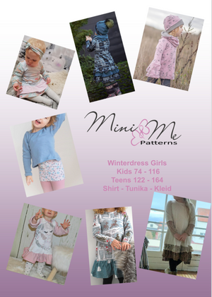 "eBook - ""Winterdress Girls Kids & Teens"" - Tunika/Kleid - Mini & Me Patterns"