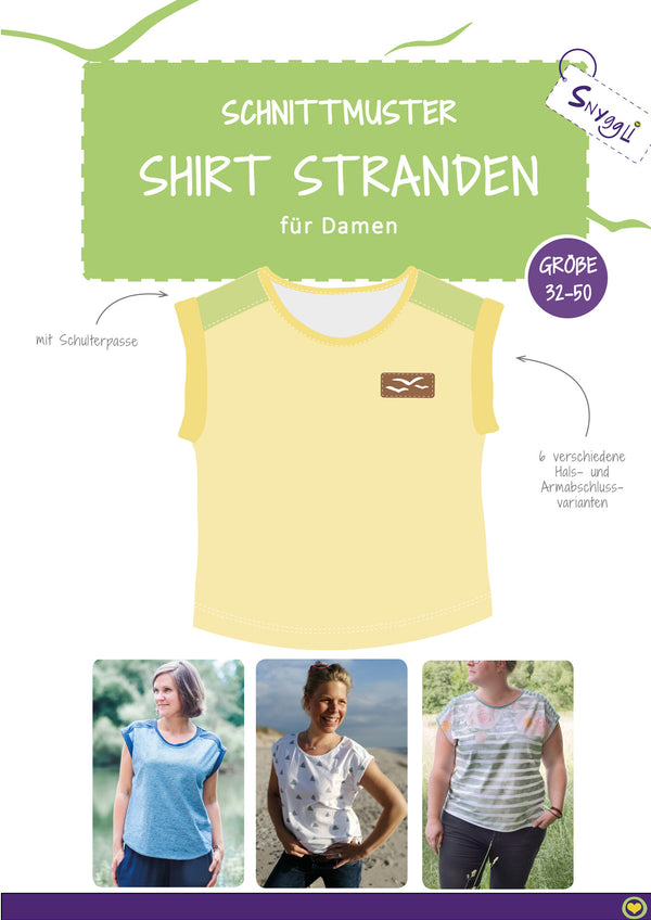"eBook - ""Stranden Damen"" - Shirt - Snyggli"