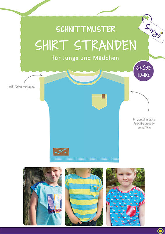 "eBook - ""Stranden Kids"" - Shirt - Snyggli"