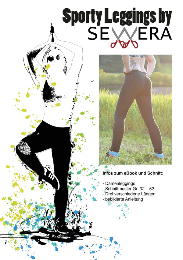 "eBook - ""Sporty Leggings"" - Hose - Sewera - Glückpunkt."