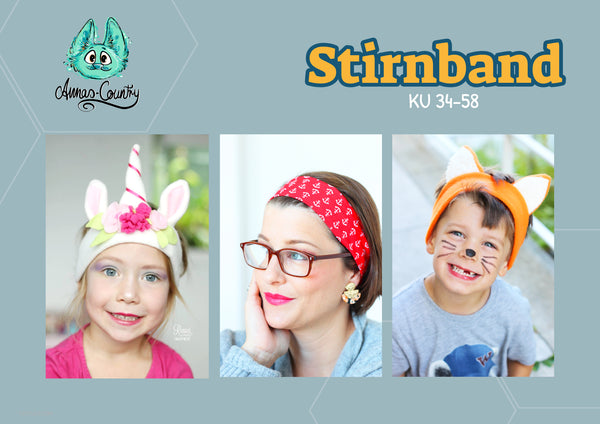 "eBook - ""Stirnband"" - auch als Tierversion -  Annas-Country"