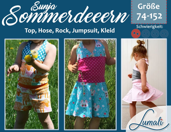 "eBook - ""Sunja"" - Summerdress - Lumali - Glückpunkt."